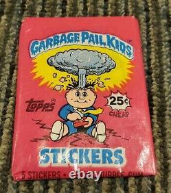 15 Unopened Packs Garbage Pail Kids Series 1- 15 # 1 Non Sports Cards OS 1 GPK