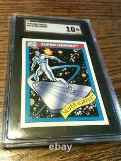 1990 Impel Marvel #32 Silver Surfer SGC 10 Pristine Gold Label POP 1 RARE SCARCE