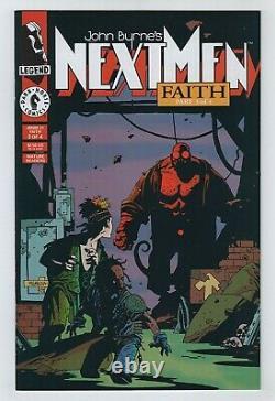 1993 JOHN BYRNE'S NEXT MEN No. 21 NM- 9.2 Second Appearance of Hellboy (Mignola)