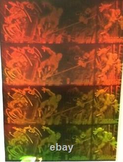 1994 Fleer The Amazing Spider-Man Framed Uncut 4x4 Hologram Sheet