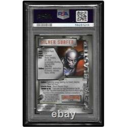 1995 Marvel Metal Metal Blaster Limited Edition Silver Surfer Psa 10 Gem Mint
