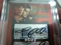2008 Inkworks Supernatural Season 3 #SD-1 Padalecki Ackles Autograph Card