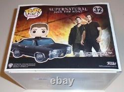 2017 Con Exclusive Limited Supernatural Funko POP! Rides Vinyl Dean & Baby 32