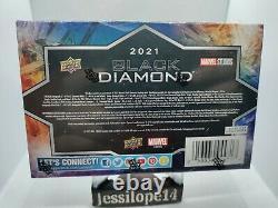2021 Upper Deck Marvel Black Diamond sealed Hobby box BNISB Infinity Stone Cards