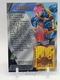 2021 Upper Deck Marvel X-Men Metal Universe CYCLOPS 1995 Buyback 01/10 RARE