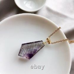 24.614.57mm Natural Brazil Super Seven 7 Melody Amethyst Crystal Pendant AAA