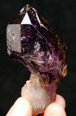 60.8g NATURAL Amethyst Scepter Quartz Super Seven 7 Mineral Specimen