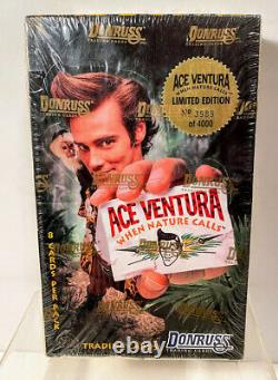 ACE VENTURA When Nature Calls Trading Card Sealed Box /4000 1995 Donruss