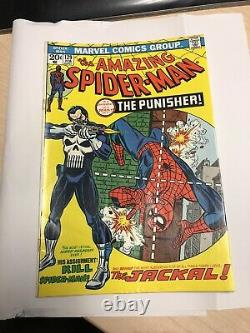 AMAZING SPIDER-MAN # 129 1ST APPEARANCE OF THE PUNISHER & JACKAL CGC It CBCS