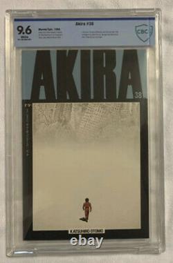 Akira #38 (1995) CBCS 9.6 White Pages Katsuhiro Otomo Last Issue See Descrpt