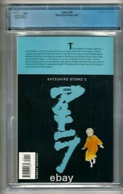 Akira #38 (1995) CGC 9.4 White Pages Katsuhiro Otomo Last Issue Scarce