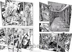 DHL JoJo's Bizarre Adventure Part 6 STONE OCEAN #40-50 Manga BOX SET withPOSTCARD