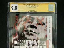 Department of Truth #1 1st Print 2020 Image 9.8 CGC Signature Series Tynion IV