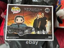 FUNKO Pop! Rides SUPERNATURAL #46 BABY WITH SAM Hot Topic Exclusive NEW