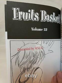 Fruits Basket Set Volumes 15-23 First Toykypop English Manga OOP Ex-Library
