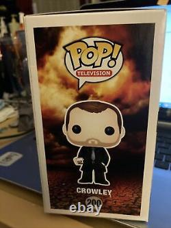 Funko POP! Supernatural Crowley 200 Rare Show Ex 2014 LE Variant withPop ProFPB4