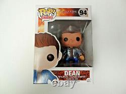 Funko POP Supernatural Dean Figure #94 NEW DAMAGED BOX Blood Splattered Metallic