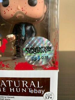 Funko POP! Supernatural Sam, Dean, Crowley Bloody (Non-Metallic) 3-Pack 253/275