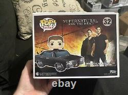 Funko Pop Ride Supernatural Baby with Dean SDCC Shared Exclusive