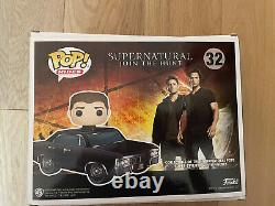 Funko Pop Rides #32 Supernatural Baby with Dean 2017 SDCC Shared Exclusive