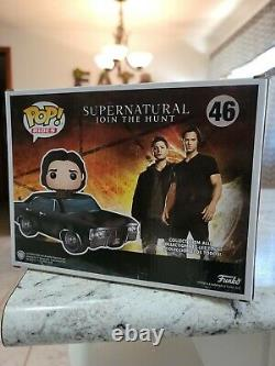 Funko Pop Rides Hot Topic Exclusive Supernatural Baby With Sam Chase Chrome BN