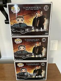 Funko Pop! Rides Supernatural BABY with DEAN & SAM SDCC Hot Topic Chase #32 #46