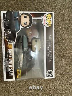 Funko Pop! Rides Supernatural Baby With Sam Hot Topic Exclusive #46