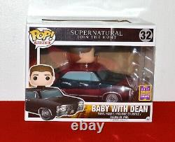 Funko Pop Supernatural BABY with DEAN SDCC Convention Exclusive Vinyl Figure #32