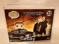 Funko Pop! Supernatural Dean With Baby Ride 2017 SDCC Exclusive HTF- Damaged