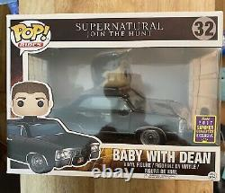 Funko Pop Vinyl Rides Supernatural Baby With Dean 2017 Convention Exclusive, New