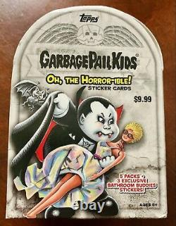 Garbage Pail Kids 2018 Oh The Horror-ible Complete 200 Card Set + Box + Wrapper