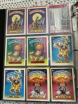 Garbage Pail Kids Complete Original Series 1 Through Set 15 Die Cut Rare Cards