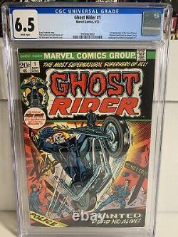 Ghost Rider 1 CGC 6.5 WP 1st son of satan
