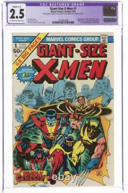 Giant size x-men 1 cgc 2.5