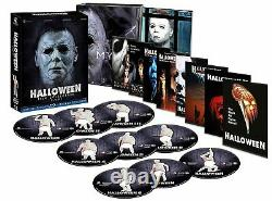 Halloween 1-8 Blu Ray Collection (9 Disc Set) EU Import Region B NewithSealed
