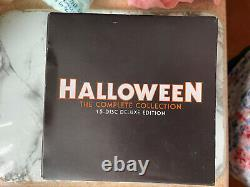 Halloween Blu-ray 15 Disc Collection VGC Deluxe Edition Scream Factory J Card