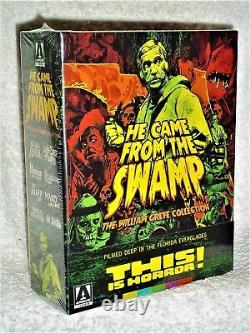 He Came From The Swamp (Blu-ray, 2020, 4-Disc) NEW William Grefe Collection