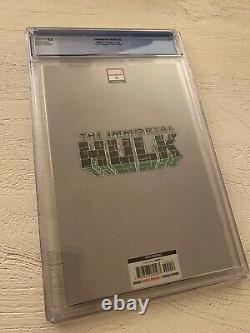 Immortal Hulk 2 5th Print 125 Virgin Variant Ross CGC 9.8 NM/MT 1st Dr Frye