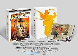 Indiana Jones 4-Movie Collection (4K Ultra HD + Blu-ray) Harrison Ford