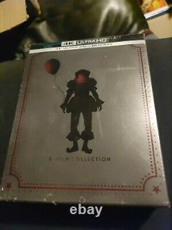 It 2-Film Collection (4K Ultra HD, Blu Ray) Steelbooks brand new chapter 1 and 2