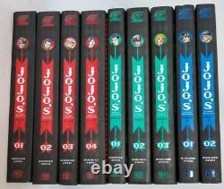 JOJO's BIZARRE ADVENTURE MANGA LOT/PART 1 VOL. 1-3, PART 2 VOL. 1-4, PART 3 VOL1,2