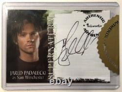 Jared Padalecki Autograph A9 from Supernatural Season 2, Inkworks
