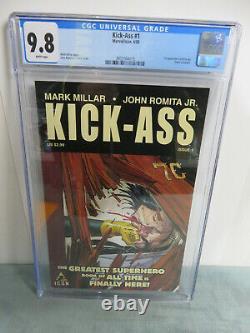 KICK-ASS #1 CGC 9.8 1st Kick-Ass (Dave Lizewski) Appearance Icon (2008)