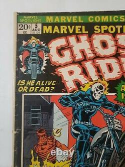 MARVEL SPOTLIGHT #5(Marvel, 1972) 1ST APP. GHOST RIDERJOHNNY BLAZE. KEY HOT