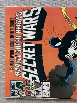 MARVEL SUPER HEROES SECRET WARS #8 1st APP OF THR SYMBIOTE- KEY 1984