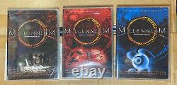 MILLENNIUM The Complete TV Series Seasons 1+2+3(18 DVD, 1-3 Sets Collection)NEW