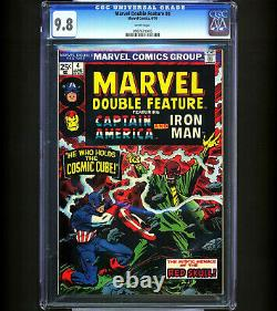 Marvel Double Feature #4 CGC 9.8 1 OF JUST 2 HIGHEST GRADED Awesome Cover RARE