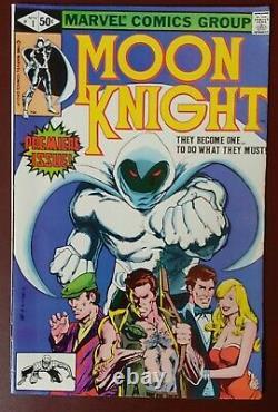 Marvel MOON KNIGHT (1980) #1 BUSHMAN App DISNEY+ Show VF/NM (9.0) Ships FREE