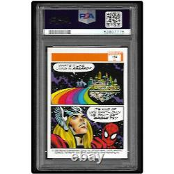 Marvel PSA 10 GEM MT 1990 Marvel Universe Series 1 THOR & SPIDER-MAN