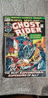 Marvel Spotlight #5(Marvel, 1972)Key! - 1st App Ghost RiderJohnny Blaze